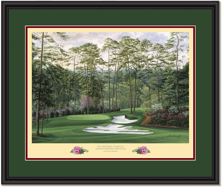 Camellia Augusta 10th Hole Framed Picture