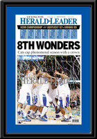 Kentucky Wildcats 8th Wonders 2012 Framed Newspaper Headlines