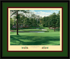 Firethorn Augusta 15th Hole Framed Golf Art Print