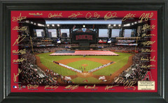 Arizona Diamondbacks Signature Framed Picture