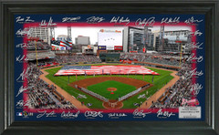 Atlanta Braves Signature Ballpark Framed Picture