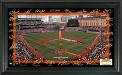 Baltimore Orioles Signature Framed Picture