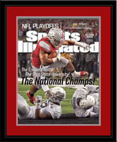 Ezekiel Elliott National Championship Sports Illustrated Cover Framed