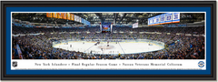 NY Islanders Final Game Nassau Veterans Memorial Coliseum Framed