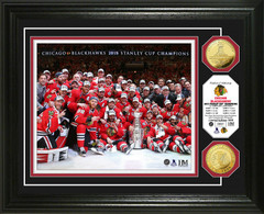 "Chicago Blackhawks 2015 Stanley Cup ""Celebration"" Photo Mint"