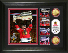 "Chicago Blackhawks 2015 Stanley Cup ""Triumph"" Photo Mint"