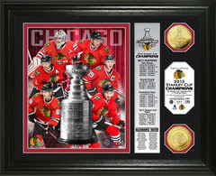 "Chicago Blackhawks 2015 Stanley Cup ""Banner"" Photo Mint"