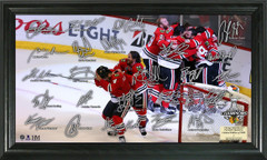 "Chicago Blackhawks 2015 Stanley Cup ""Celebration"" Signature Frame"