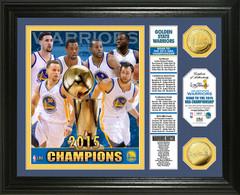 "Golden State Warriors 2015 NBA Champions ""Banner"" Photo Mint"