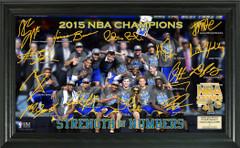 Golden State Warriors 2015 NBA Champions Celebration Signature Photo