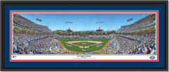 Los Angeles Dodgers Opening Day 2015 Framed Print double matted