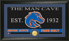 Boise State Broncos Man Cave Sign and Photo Mint