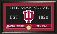 Indiana Hoosiers Man Cave Sign and Photo Mint