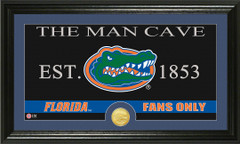 Florida Gators Man Cave Sign and Photo Mint