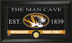 Missouri Tigers Man Cave Sign and Photo Mint