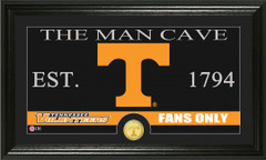 Tennessee Volunteers  Man Cave Sign and Photo Mint