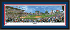 Wrigley Field Framed Panoramic Picture Double Mat