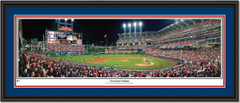 Progressive Field Cleveland Indians Framed Picture with double matting