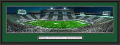 MSU Spartans Stripe the Stadium Framed Picture