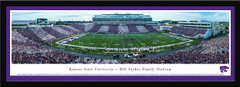 KSU Bill Synder Stadium Framed Picture with matting
