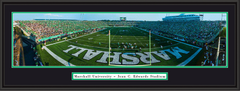 Marshall Joan C Edwards Stadium Framed Picture