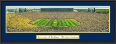 Michigan Stadium 2015 Season Opener Framed Picture
