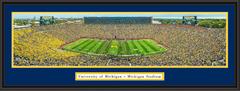 Michigan Stadium 2015 Season Opener Framed Picture