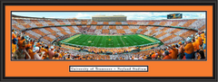 UT Vols  Checkerboard Season Home Opener Framed Picture