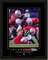 Ohio State Framed Teamwork Motivational Poster