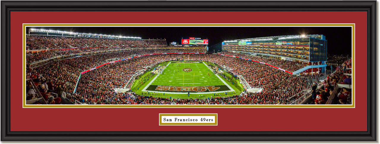 San Francisco 49ers Season Opener 2015 Framed Print