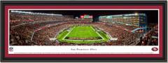 San Francisco 49ers Season Opener 2015 Framed Print with single mat black frame