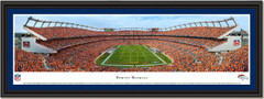 Sports Authority Field Denver Broncomania Framed Picture