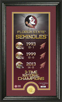Florida State Seminoles Legacy Supreme Minted Coin Photo Mint