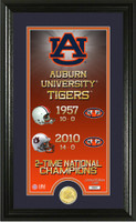 Auburn Tigers Legacy Supreme Minted Coin Photo Mint