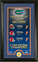Florida Gators Legacy Supreme Minted Coin Photo Mint