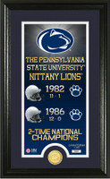 Penn State Nittany Lions Legacy Supreme Minted Coin Photo Mint