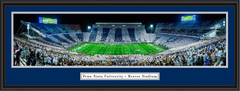 Beaver Stadium Stripe Out Game Framed Picture