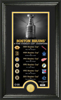 Boston Bruins Legacy Supreme Bronze Coin Photo Mint