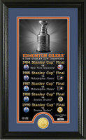 Edmonton Oilers Legacy Supreme Bronze Coin Photo Mint