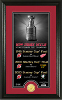 New Jersey Devils Legacy Supreme Bronze Coin Photo Mint