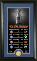 New York Islanders Legacy Supreme Bronze Coin Photo Mint