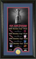 New York Rangers Legacy Supreme Bronze Coin Photo Mint