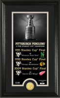 Pittsburgh Penguins Legacy Supreme Bronze Coin Photo Mint