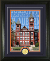 "Auburn University ""Campus Traditions"" Bronze Coin Photo Mint"