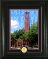"Mississippi State University ""Campus Traditions"" Bronze Coin Photo Mint"