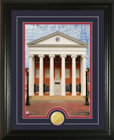 "University of Mississippi ""Campus Traditions"" Bronze Coin Photo Mint"