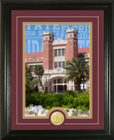 "Florida State University ""Campus Traditions"" Bronze Coin Photo Mint"