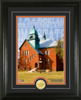 """Oklahoma State University """"Campus Traditions"""" Bronze Coin Photo Mint"""