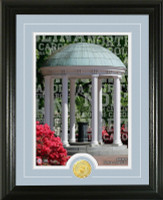 "University of North Carolina ""Campus Traditions"" Bronze Coin Photo Mint"
