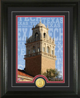 "Texas Tech University ""Campus Traditions"" Bronze Coin Photo Mint"